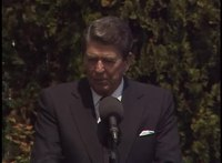 File:President Reagan 41st Press Conference in Venice, Italy on June 11, 1987.webm