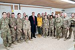 President Trump the First Lady Visit Troops in Iraq (46502780581).jpg