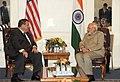 Prime Minister Modi meets New Jersey Governor Chris Christie.jpg