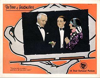 <i>The Prince of Headwaiters</i> 1927 film by John Francis Dillon