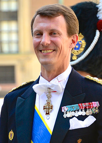 Prince Joachim of Denmark - Joachim at the wedding of Princess Madeleine of Sweden and Christopher O'Neill, 8 June 2013