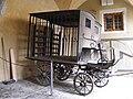 Prisoner transport carriage - Mittelalterliches Kriminalmuseum Rothenburg ob der Tauber.JPG
