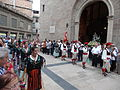 Processó de Sant Bartomeu - 13 Agrupació Folklòrica Igualadina - Galop La Gitana.JPG