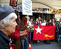 Protest organized by Burma Center Prague for the Saffron Revolution.jpg