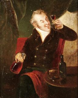 Provando o Vinho (século XIX, escola inglesa)
