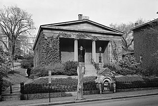 Providence Athenaeum library in Providence, Rhode Island