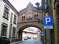 Przewiązka pomiędzy pałacem a klasztorkiem.JPG
