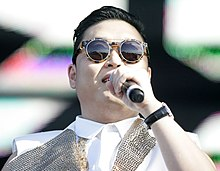 Psy at Future Music Festival 2013, Randwick, Sydney, Australia