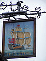 Pub sign - The Victory, Hamble - geograph.org.uk - 1437652.jpg