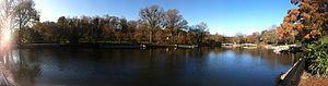 Pullen Park - Pullen Park lake