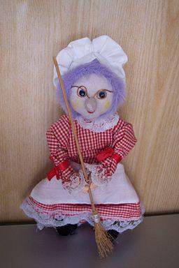 Puppe Brockenhexe