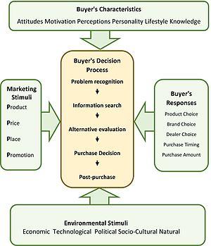 Consumer behaviour - The purchasing decision model