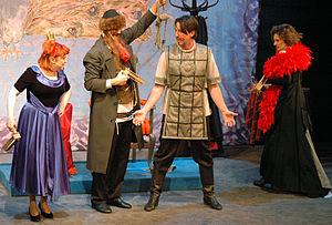 Purim spiel - Purim spiel performance in The Jewish Theatre of Warsaw, Poland in March 2009