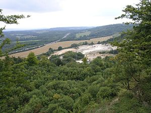 Woldingham - View from the southern edge of Woldingham