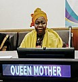 Queen Mother Blakely at United Nations.jpg