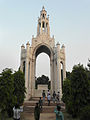 Queen Victoria's Memorial in Alfred park,Allahabad, U.P., India...jpg