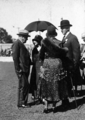 Queensland State Archives 3839 Hon AE Moore Premier or Queensland Lady Goodwin Mrs Moore and Sir John Goodwin Governor at RNA Show Official Opening 1931.png