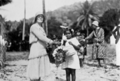 Queensland State Archives 5805 Mrs J C Peterson and child Yarrabah June 1931.png