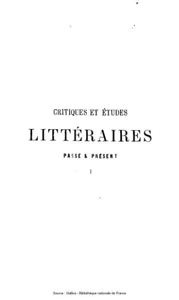 File:Rémusat - Critiques et études littéraires, ou passé et présent, tome 1.djvu