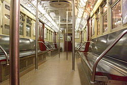 r33 new york city subway car wikipedia. Black Bedroom Furniture Sets. Home Design Ideas