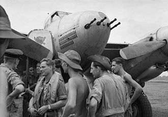 No. 47 Squadron RAF - 47 Squadron crew at Batavia/Kemajoran airfield after a mission against Indonesian nationalist forces