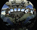 RAF Pilot Training in Cockpit of Nimrod Aircraft MOD 45152088.jpg