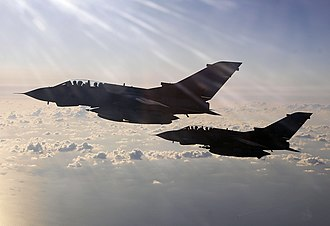Operation Ellamy - Image: RAF Tornado GR4 Aircraft During Operation Ellamy MOD 45155728