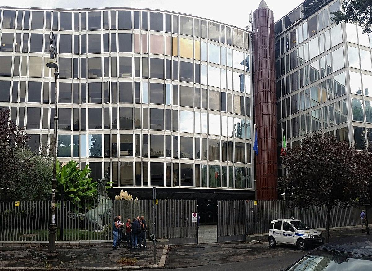 File:RAI sede centrale di Roma, Viale Mazzini.jpg ...
