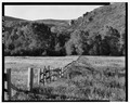 RANCH LANDS IN PROVO RIVER VALLEY. VIEW TO SOUTH. - Jordanelle Valley, Heber City, Wasatch County, UT HABS UTAH,26-HEBCI.V,1-23.tif