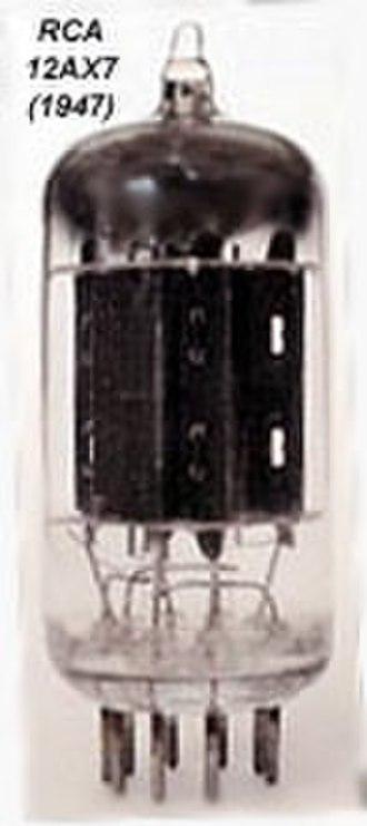 12AX7 - RCA 12AX7