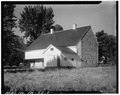 REAR AND SIDE ELEVATIONS - Barn, State Route 340, Bird in Hand, Lancaster County, PA HABS PA,36-BIRDI.V,1A-2.tif