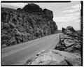 ROCK CUT, FACING EAST. - Trail Ridge Road, Between Estes Park and Grand Lake, Estes Park, Larimer County, CO HAER COLO,35-ESPK.V,7-2.tif