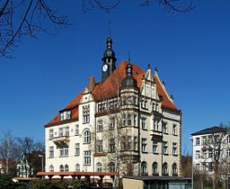 town hall of Radebeul, Germany