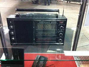 Stig Bergling - Bergling's shortwave radio with which he could receive Moscow's orders to him.