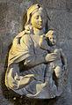 Raffaello da montelupo, madonna col bambino, 1522 (dalla tomba del vescovo silvestro gigli).JPG