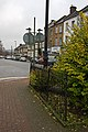 Railings and Bell Lane - geograph.org.uk - 1082343.jpg