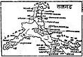 Rajgad map, Marathi.jpg