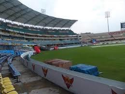 Rajiv Gandhi International Cricket Stadium, Hyderabad