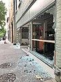 Raleigh, North Carolina George Floyd death protest damage 09.jpg