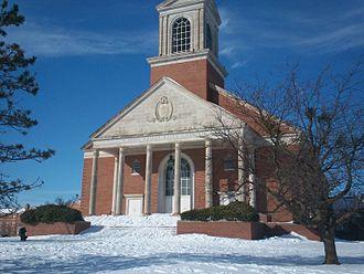 John Wesley Raley - Raley Chapel in winter