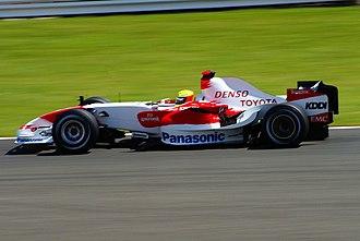 Toyota TF107 - Ralf Schumacher at the 2007 British GP.