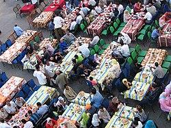 Iftar en Égypte