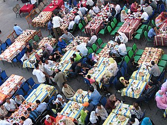Iftar - A 2005 Iftar in Cairo