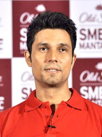 Randeep Hooda - Hooda at a promotional event for Old Spice