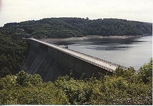 Rappbode Dam - Image: Rappbodetalsperre 1