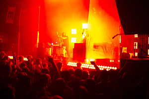 Ratatat performing at First Ave in Minneapolis, MN