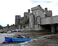 Rear view of Conwy Castle - geograph.org.uk - 1111779.jpg