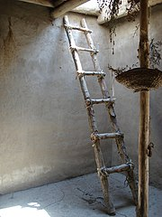 File Reconstructed Ladder Asikli Hoyuk Jpg Wikimedia Commons