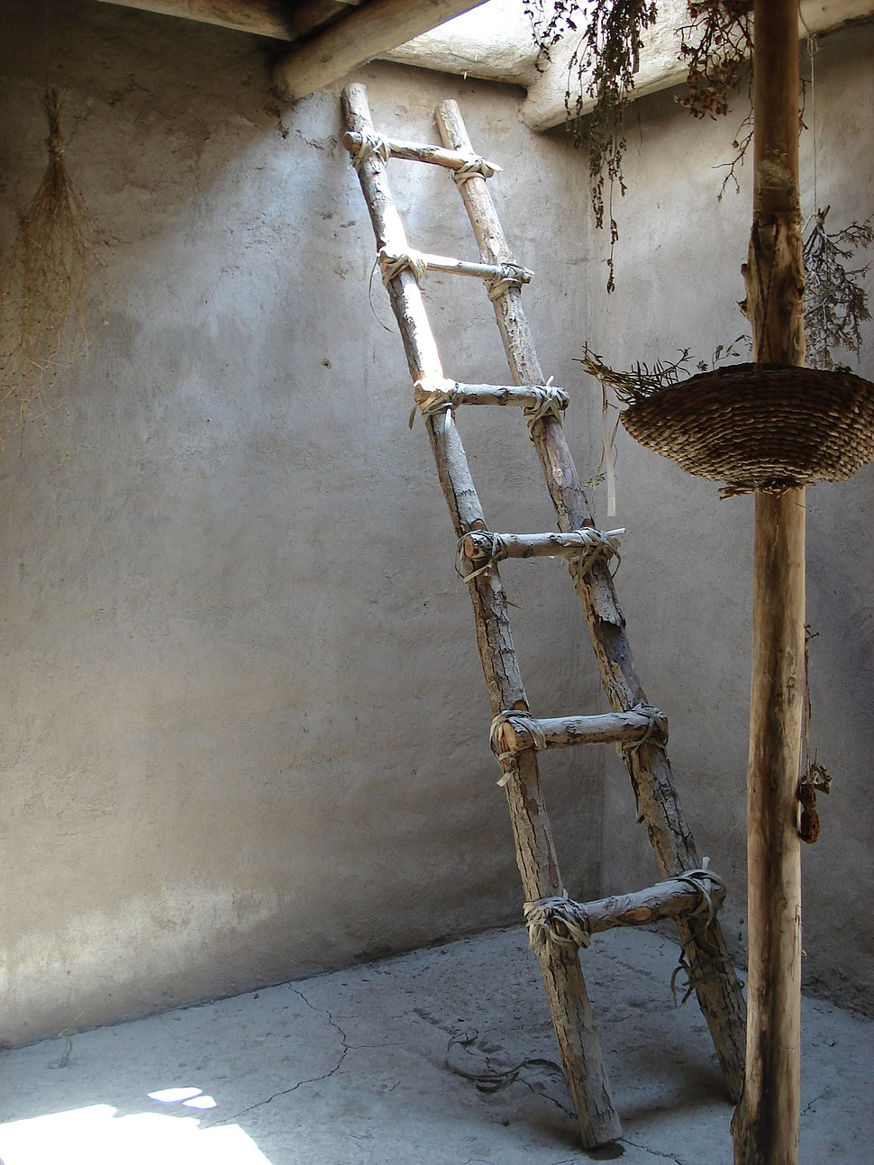 Reconstructed ladder Asikli Hoyuk