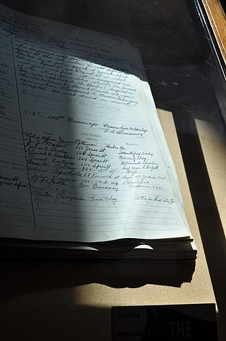 1934 West Coast waterfront strike - San Francisco Coroner's Records of Death for Howard Sperry and Nicolas Bordoise